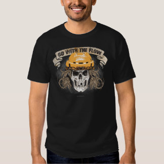 Go with the Flow (Gold) T Shirt