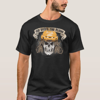 Go with the Flow (Hockey Hair) Gold T-Shirt