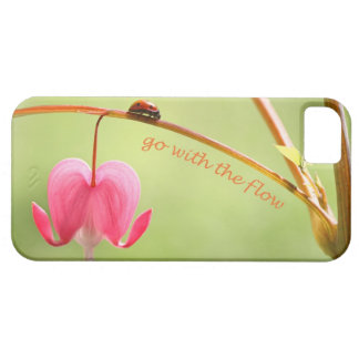 Go With the Flow Ladybug and Flower Case For The iPhone 5