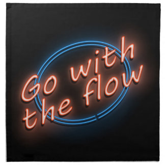 Go with the flow. napkin