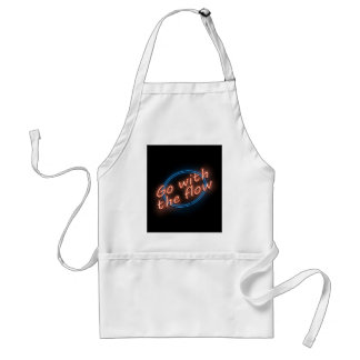 Go with the flow. standard apron