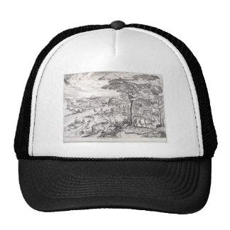 Go ye into the Emmaus by Pieter Bruegel the Elder Mesh Hats