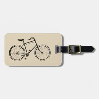 Go your own way luggage tag