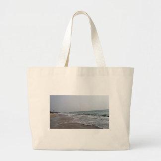 Goa Beach India Large Tote Bag