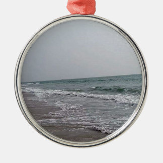 Goa Beach India Metal Ornament
