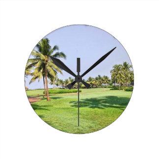 Goa India 2 Round Clock