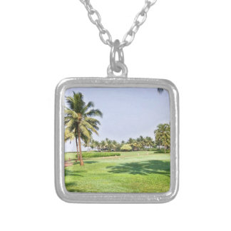 Goa India 2 Silver Plated Necklace