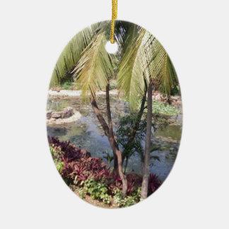Goa India Garden Ceramic Ornament