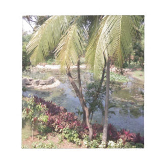 Goa India Garden Notepad