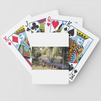Goa India Garden Poker Deck