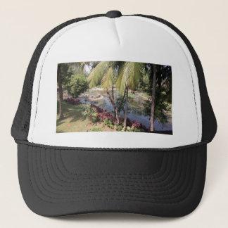 Goa India Garden Trucker Hat