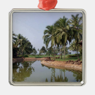 Goa India Metal Ornament