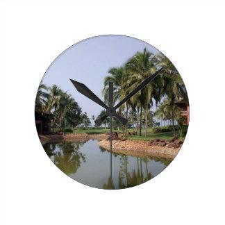 Goa India Round Clock