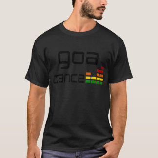 Goa Trance Music with Stereo Equalizer T-Shirt