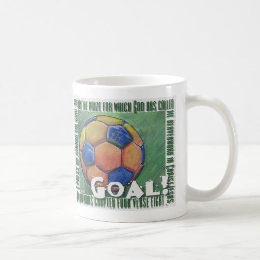 Goal! Christian soccer ball Mug
