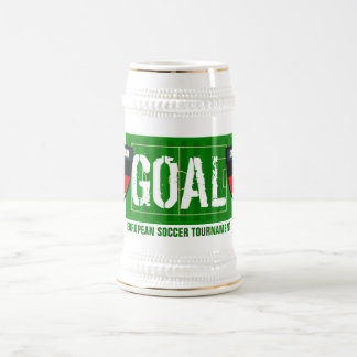 Goal Deutschland Germany European Soccer Beer Mug