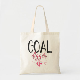 Goal Digger, Motivated Girl Tote Bag