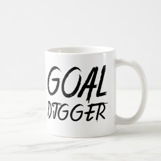Goal Digger - Paint Brush Letter Coffee Mug