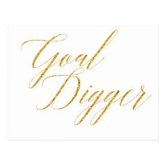 Goal Digger Postcard