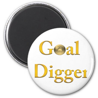 Goal Digger Products 6 Cm Round Magnet