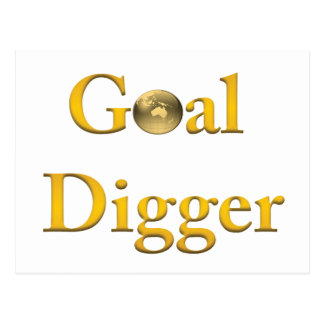 Goal Digger Products Postcard