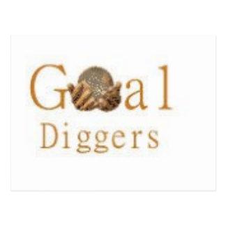 Goal Diggers Logo 2 Postcard