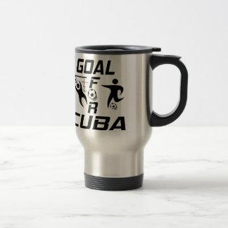 Goal For Cuba Stainless Steel Travel Mug