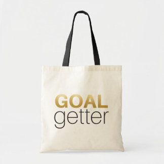 Goal Getter - Gold Tote