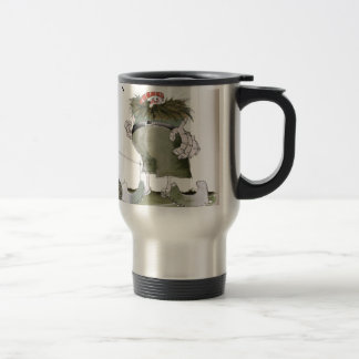 goal keeper 'reds' travel mug