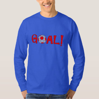 Goal - Long Sleeve Soccer T Shirts for Men