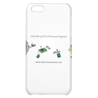 Goal Setting of An Electronics Engineer iPhone 5C Covers