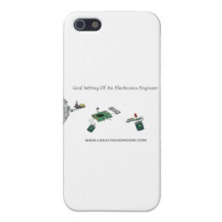 Goal Setting of An Electronics Engineer iPhone 5 Covers