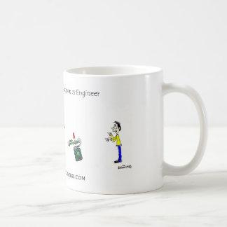 Goal Setting of An Electronics Engineer Basic White Mug