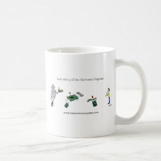 Goal Setting of An Electronics Engineer Mugs