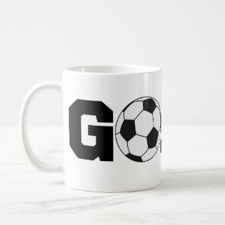 Goal! Soccer Coffee Cup Basic White Mug