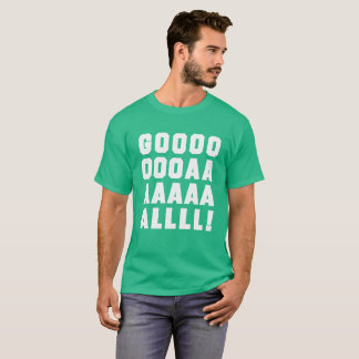 Goal Soccer futbol t-shirt