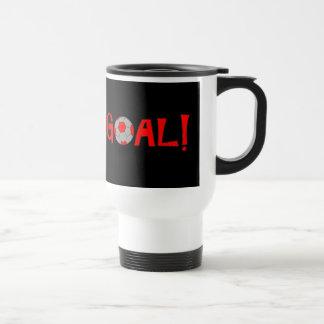 GOAL - Soccer Travel Mug