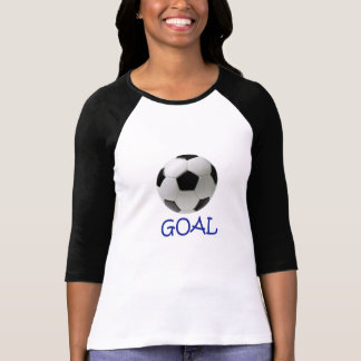 GOAL Sporty Ladies 3/4 Sleeve Raglan Fitted T-Shirt