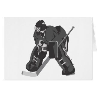 Goalie Card
