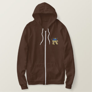 Goalie Embroidered Hooded Sweatshirt