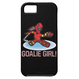Goalie Girl Tough iPhone 5 Case