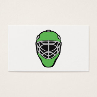 Goalie Mask Business Card