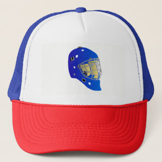 Goalie Mask Trucker Hat
