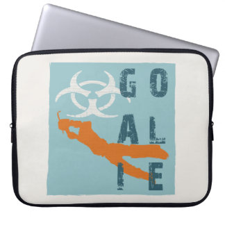 Goalie sleeves laptop computer sleeves