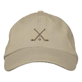 Goalie Sticks Embroidered Hat