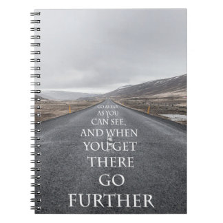 Goals and dreams motivational quotes notebooks