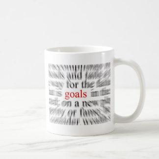 Goals Basic White Mug