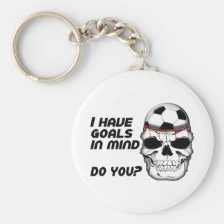 Goals in Mind Key Ring
