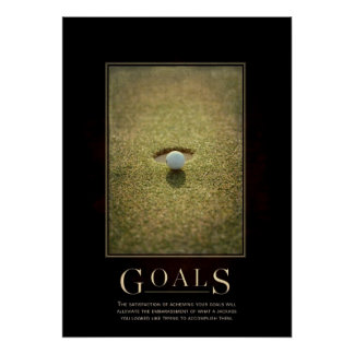 Goals Motivational Parody Poster