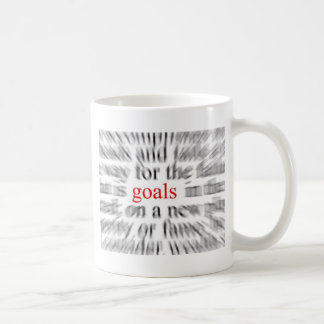 Goals Coffee Mugs